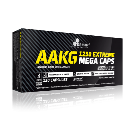 AAKG MEGA CAPS 120caps